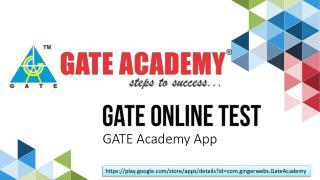 GATE Online Test Series App