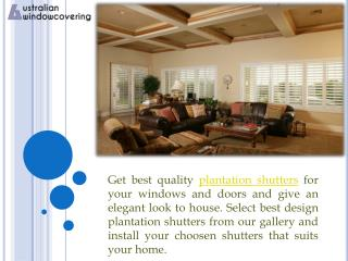 Good looking blinds and shutters in melbourne