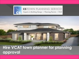 Professional Melbourne town planner