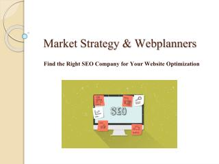Seo Company Melbourne - Market Strategy & Webplanners