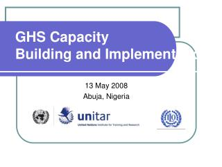 GHS Capacity Building and Implementation