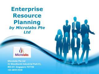 Enterprise resource planning Singapore