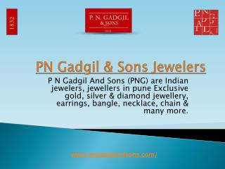 PNG & Sons offers Latest Diamond Jewellery, Rose Gold