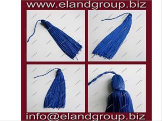 Blue Graduation Cap Tassels