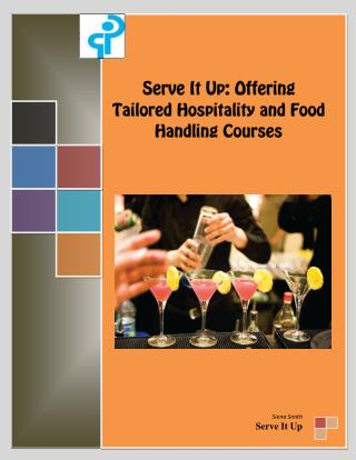 Elevate your Qualification with Serve It Up