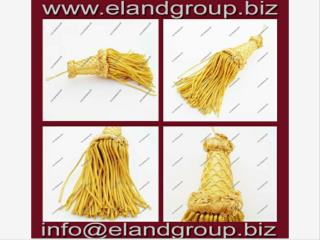 Gold French Bullion Tassels
