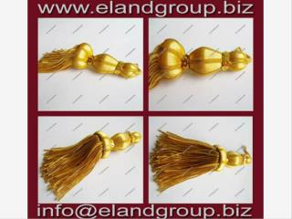 Golden French Bullion Tassels