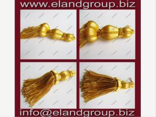 Golden French Bullion Tassels