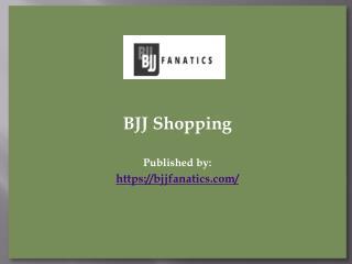 BJJ Shopping