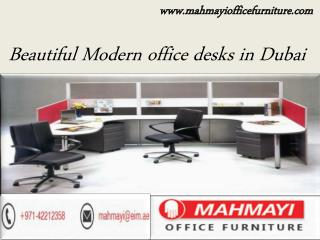 Beautiful Modern Office Desks in Dubai