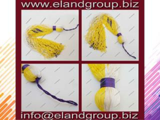 Graduation Yellow and Blue Cap Tassel