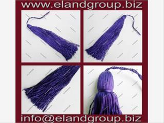 Purple Graduation Cap Tassels