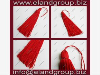 Red Graduation Cap Tassels