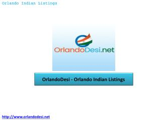 OrlandoDesi – Orlando Indian Listings