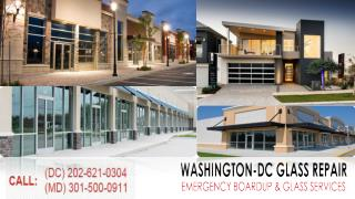 Residential Window Glass Repair Specialist Washington DC