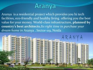 2,3,4BHK Aranya Luxurious Apartments In Noida,At Reasonable