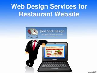 Web Design Services for Restaurant Website