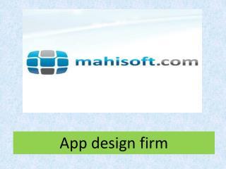 App design firm