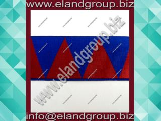 Blue and Red Diamond Regalia Ribbon