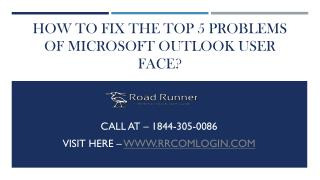 How To Properly Configure An Email Account In MS Outlook?