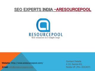 SEO Experts India – AResourcePool