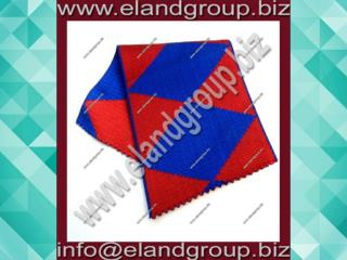 Red Blue Moire Ribbon