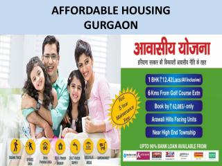 Affordable Homes Gurgaon - Real Estate |9811231177