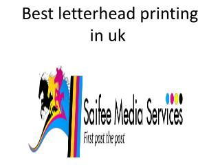 Best letterhead printing in uk