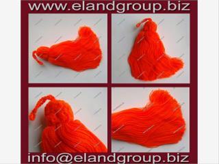 Turkish Cotton Red Key Tassel