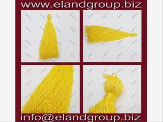 Yellow Graduation Cap Tassels