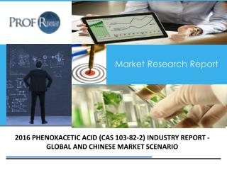 Phenoxacetic Acid Industry, 2011-2021 Market Research