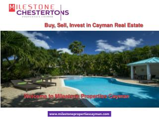 A look at the real estate investment opportunities in Cayman