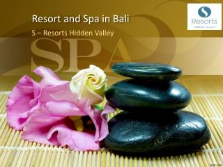 Find best resort and spa in Bali