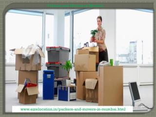 Home Shifting Made Easier By Packers and Movers Mumbai