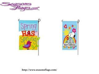 Buy Seasonal Flags at seasonsflags.com