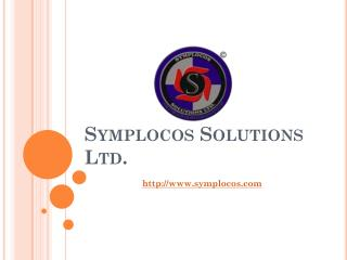 A web design,  ecommerce development and advertising firm in India - Symplocos