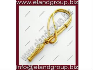 Gold Mylar Wire Sword Knot