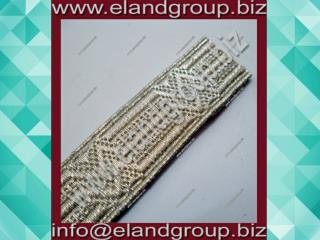 French Century Silver Mylar Braid