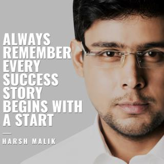 Top 10 Inspirational Quotes Written by Harsh Malik