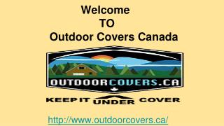 Boat Covers for Winter Storage - Outdoor Covers Canada