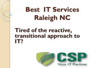 IT support Raleigh NC