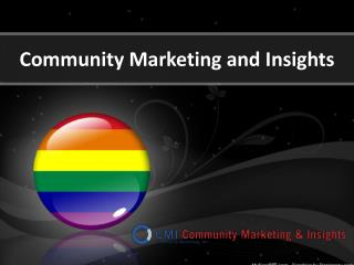 LGBT Research, Consulting and Marketing