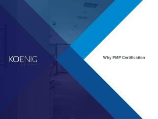 Why is PMP Certification Important?