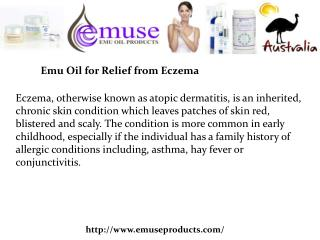Buy Emu Oil Eczema