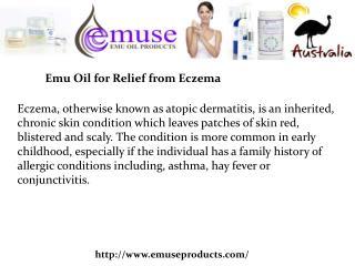 Buy Emu Oil Eczema