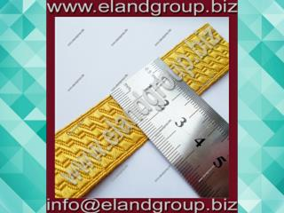 Gold Mylar B & S Lace