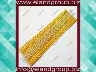 Gold Mylar Granby Lace