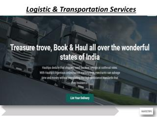 Logistic and Transporation Services