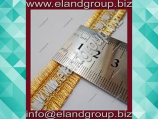 Gold Mylar Lace With Open Edges