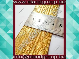 Gold Mylar Wire Lace